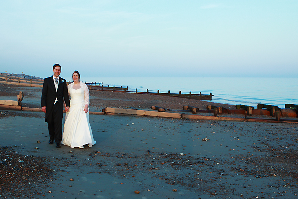 wedding photography worthing beach