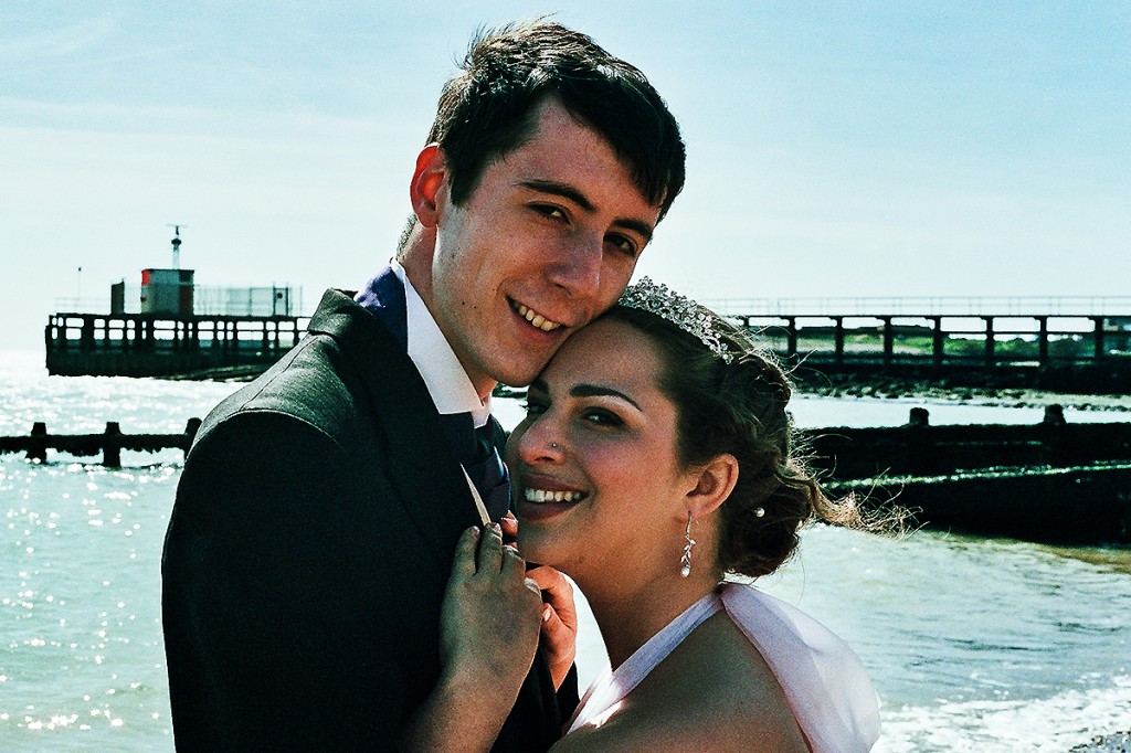 wedding photography southwick, film wedding photography