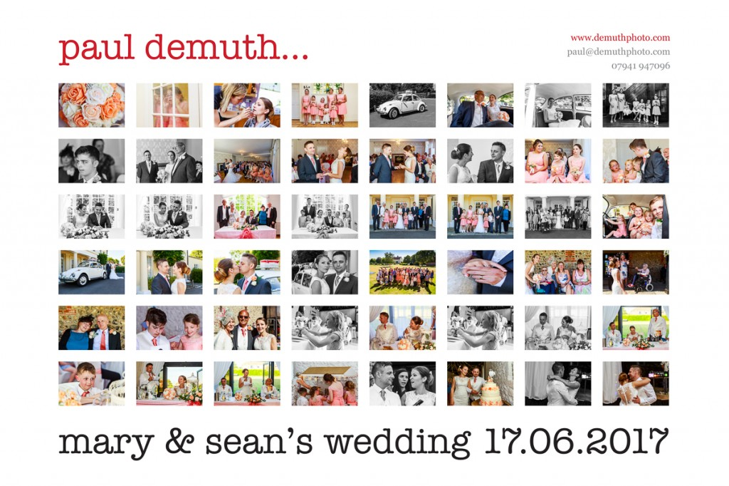 family wedding, sussex wedding, worthing wedding, field place, sean and mary, paul demuth