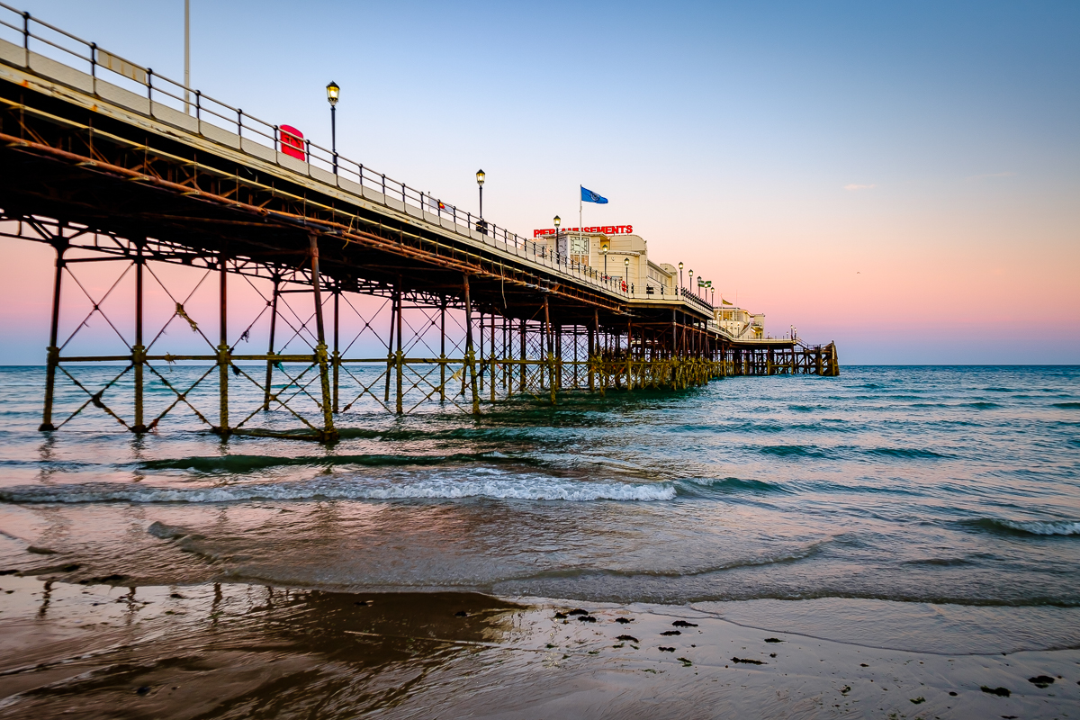 landscape photography, worthing photographer, worthing pier and seafront